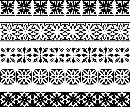 ornamentations: Elementi di disegno vettoriale
