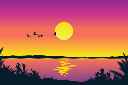 Beautiful coastline view Stock Vector - 4960807