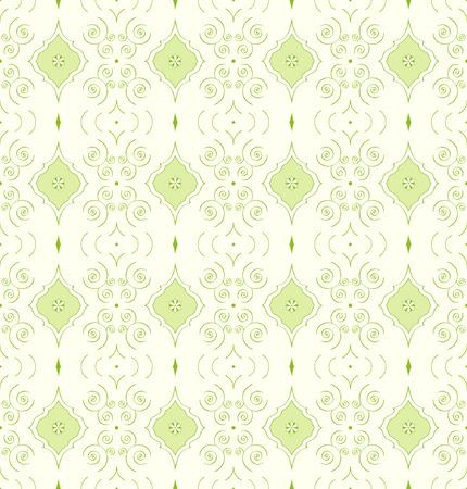 Seamless vector wallpaper pattern Vector