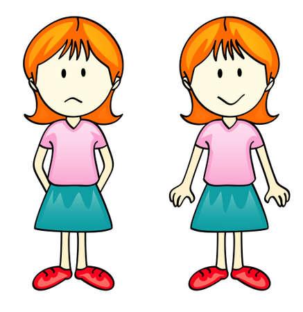 Vector Comic Character - Girl Vector