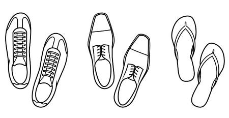 Shoes - Vector Illustration Illustration