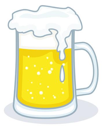 beerhouse: Beer Vector Illustration