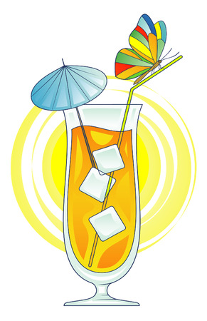 Cocktail vector illustration