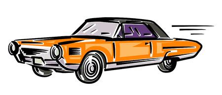 Car illustration (Vector) Vector