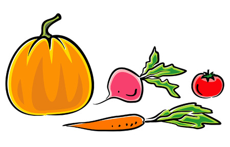 Vegetables (Vector Illustration) Vector