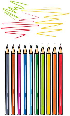 Crayons (Vector) Stock Vector - 4961558