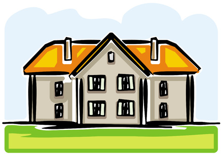 Country house Stock Vector - 4971783