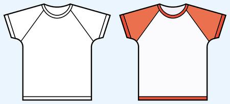 Children's t-shirt Stock Vector - 4971676
