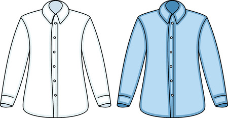 Shirts (Vector) Stock Vector - 4971720