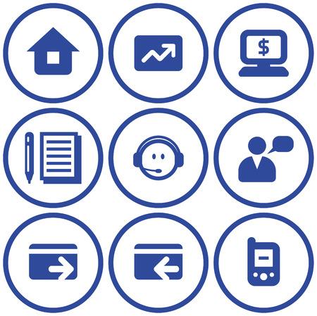 Vector e-commerce icons set  Vector