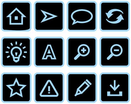 Vector web icons set  Vector