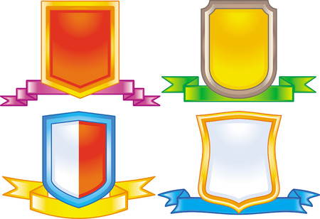 Set of vector coats of arms Stock Vector - 4971816