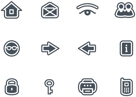 Vector Icons Set  Vector