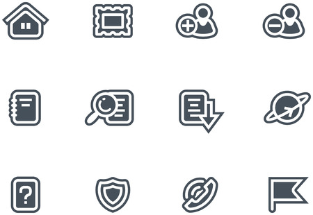 Vector Icons Set  Vector