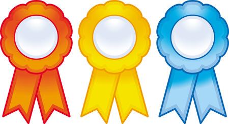 Vector award ribbons Stock Vector - 4971808