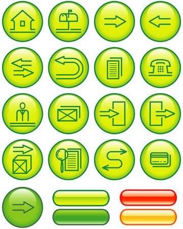 Web Icons Set (Vector) Vector