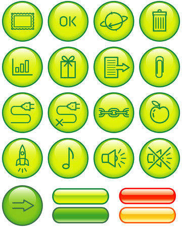 Web Icons Set (Vector) Vector