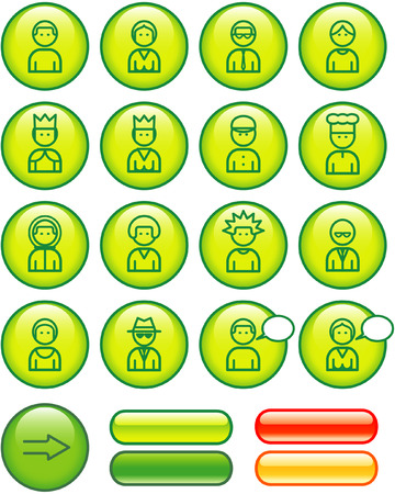 userpic: Funny Web Icons Set � People (Vector)