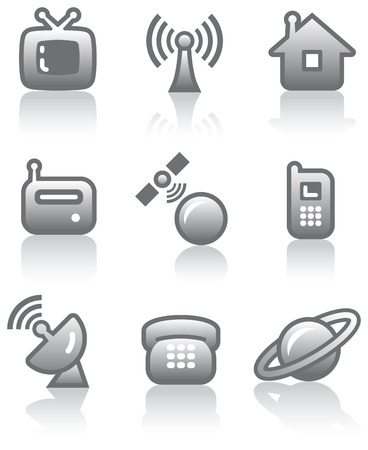 Media - Vector Icons Set