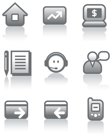 Vector e-commerce icons set