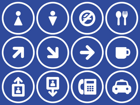 Useful  Icons Set Stock Vector - 7139080