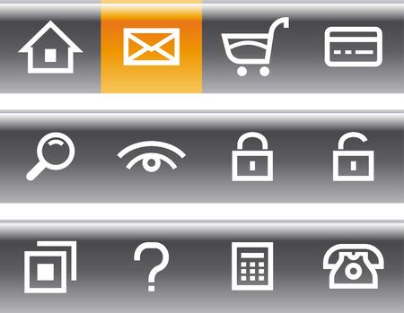 E-Commerce Icon Set Stock Vector - 7139195