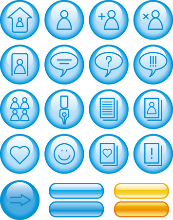 Website Icons Set Stock Vector - 7139093