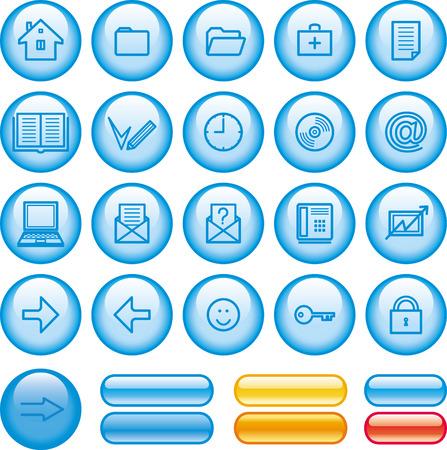 logout: Web Icons Set