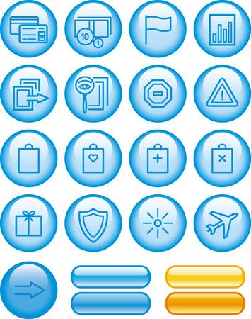E-Commerce Icons Set Stock Vector - 7139094