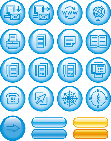 Web Icons Set Stock Vector - 7139153