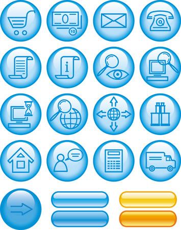E-Commerce Icon Set  Vector