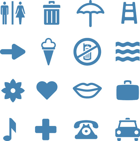 water can: Useful  Icons Set