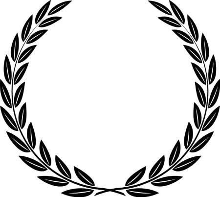 wreath vector: Laurel Wreath Vector