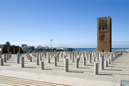 coran: Tower Hassan II - Rabat - Morocco