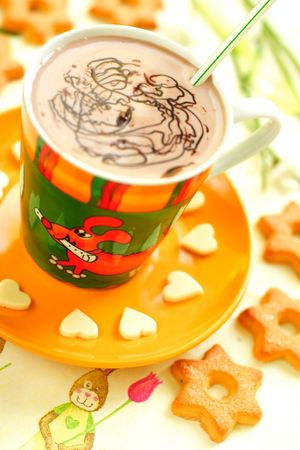 Cup of cocoa.
