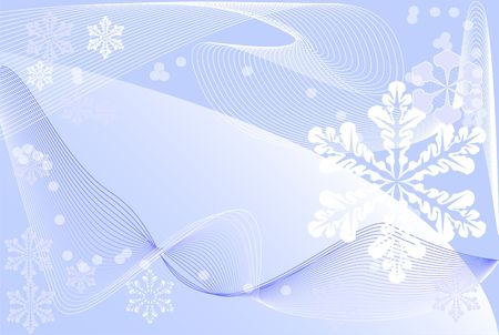 Postcard, winter theme