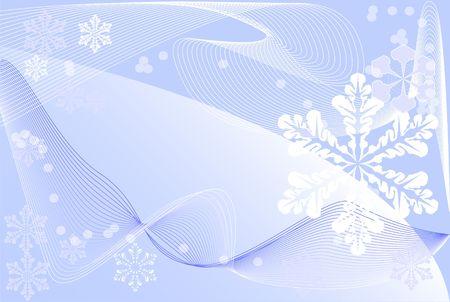 Postcard, winter theme