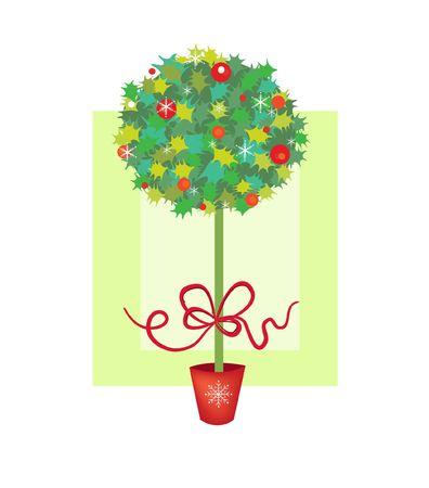 Beautiful Christmas tree Stock Photo - 1779433