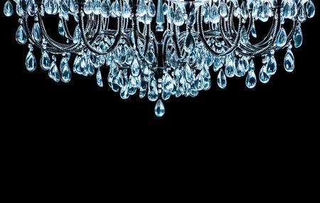 chandelier: Vintage crystal lamp