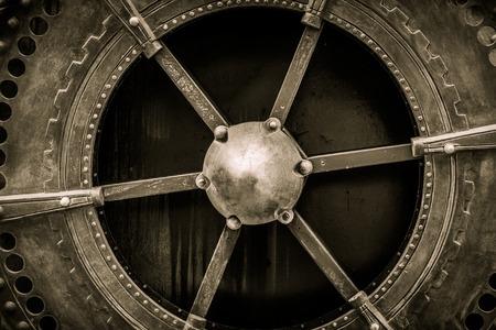 flywheel: Some kind of vintage mechanism