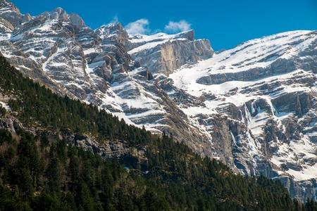 cirque: Pyrenees mountains in Cirque de Gavarnie, France