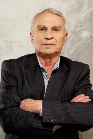 Senior man wearing suit Stock Photo - 26322422