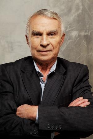 Senior man wearing suit  Stock Photo - 26322423