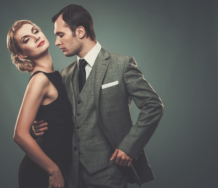 welldressed: Well-dressed retro couple