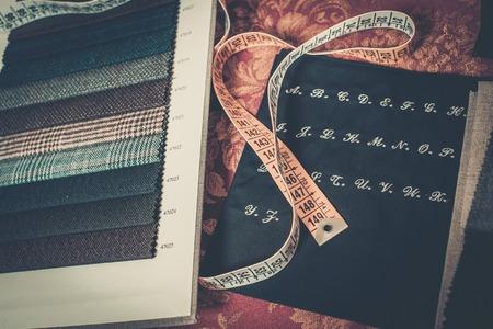 custom made: Cloth samples for custom made suits