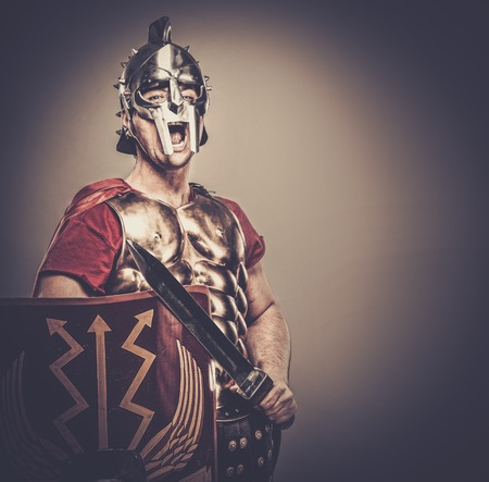 legionary: Legionary soldier ready for a war