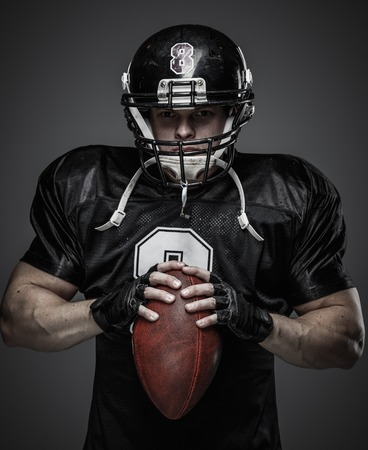 quarterback: American football player with ball