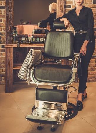 peluquero: Hairstylist en una peluquer�a