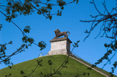 duke: Lions Hillock monument was erected in commemoration of the battle of Waterloo (18th of June 1815)