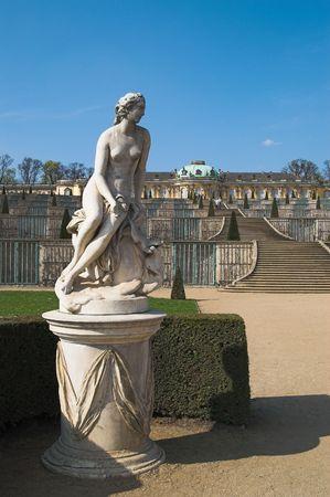 means: Sanssouci palace (name means